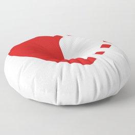 Micah Mason Foundation Red Heart Floor Pillow