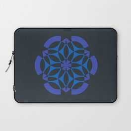 Stealthy sense | Abstract sacred geometry | Aliens crop circle Laptop Sleeve