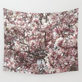 Magnolia Blossoms Wall Tapestry