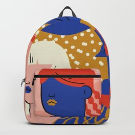 No fear of being a woman Backpack