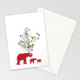 Me and my friends Stationery Cards