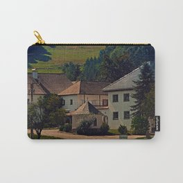 Small village in autumn scenery Carry-All Pouch
