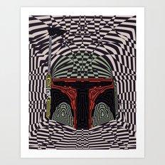 Boba Effect Art Print