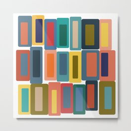 Shapes and Colors 40 Metal Print