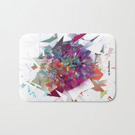 Techno Art by Nico Bielow Bath Mat