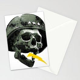 General's Skull Stationery Cards