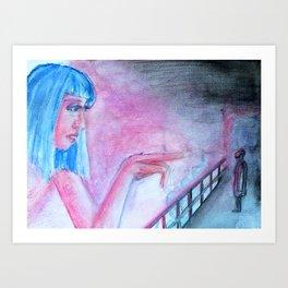 Joi by Nona Art Print
