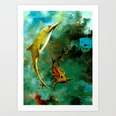 delphin Art Print