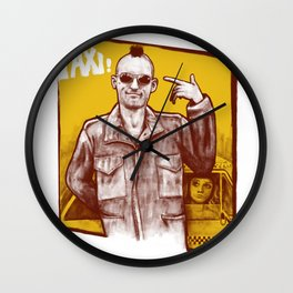 Taxi! Wall Clock