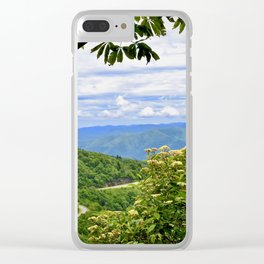 Peek hole into the Smokey Mountains Clear iPhone Case
