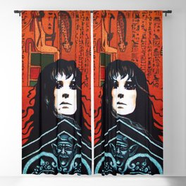 Laurie Cabot Egyptian Mystic Blackout Curtain