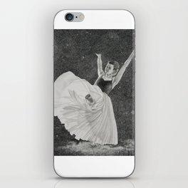 Dancing on a Cloud iPhone Skin