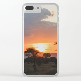 Serengeti National Park, Tanzania VIII Clear iPhone Case