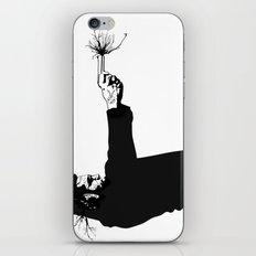 Kittapa Series - White iPhone & iPod Skin