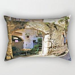 Romantic Resting Place Rectangular Pillow