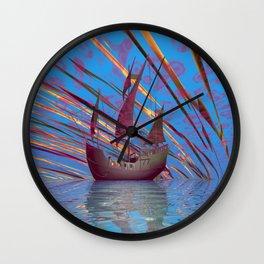 Mary Celeste Wall Clock