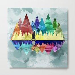 Mountains Spirit Metal Print