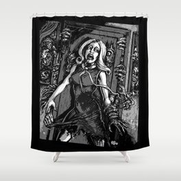 House of Zombies Shower Curtain