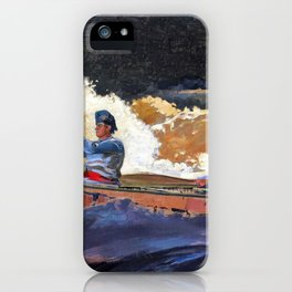 Shooting The Rapids, Saguenay River - Digital Remastered Edition iPhone Case