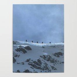Ben Nevis Climb Poster