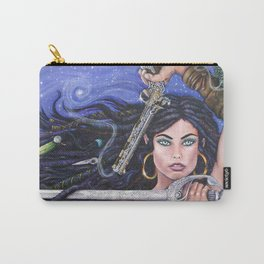 Priscilla the Peace Keeper by DeeDee Draz Carry-All Pouch