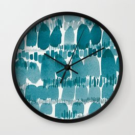 Hustle and Bustle Wall Clock