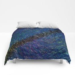 Swirling Water Comforters