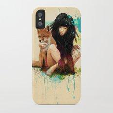 Fox Love iPhone X Slim Case