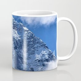 Summit of Mount Everest in clouds Coffee Mug