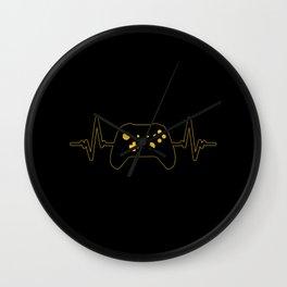 Gamer Heartbeat   Gaming Controller Wall Clock