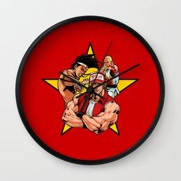 KOF Wall Clock