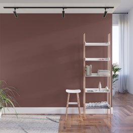 Dunn & Edwards 2019 Trending Colors Rocky Mountain Red DET442 Solid Color Wall Mural