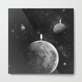 The distance of wishing.  Metal Print