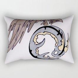 Dragon Circle Rectangular Pillow