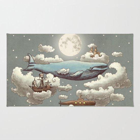 Ocean Meets Sky (original) Rug