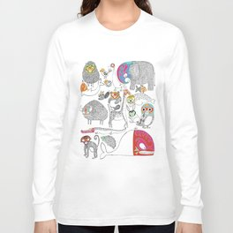 Animales Luchadores Long Sleeve T-shirt
