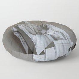 President Lincoln Statue - Washington DC Floor Pillow