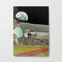 Plains by Zabu Stewart Metal Print