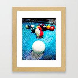 Billiards Art Print Pool Tal Decor 6 Framed Art Print