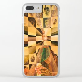 End Goal vs. Means Goal Clear iPhone Case