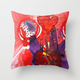 Valentine Love Throw Pillow