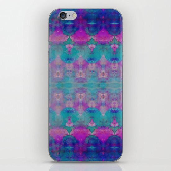 Watercolour Tribal Pink iPhone & iPod Skin