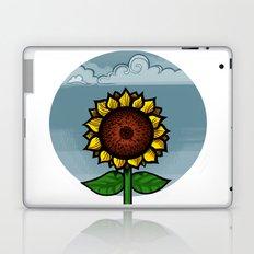 kitschy sunflower Laptop & iPad Skin