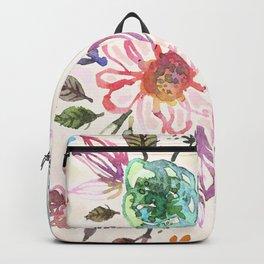 flower watercolor 3 Backpack