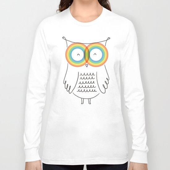 RainbOwl Long Sleeve T-shirt