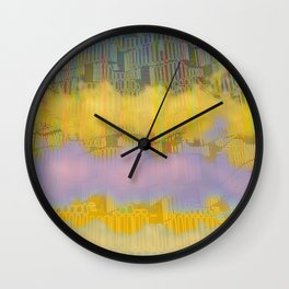 Urban 05-07-16 / WAVES of LIGHT Wall Clock