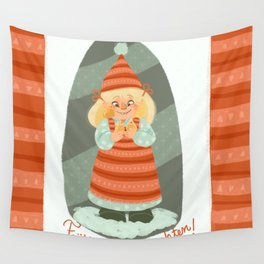 Christmas!!! Wall Tapestry