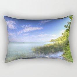 Lake Balaton Summer Rectangular Pillow