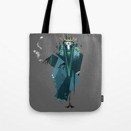 Smoking Beast Tote Bag