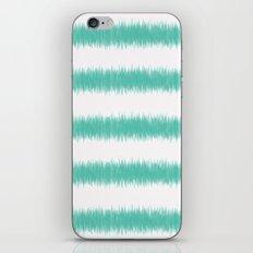 Ikat Stripe Sea Green iPhone & iPod Skin